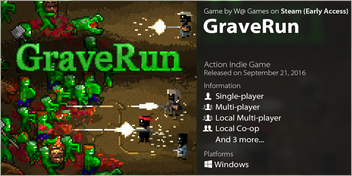 LazyGuysBundle – Steam game GraveRun by W@ Games