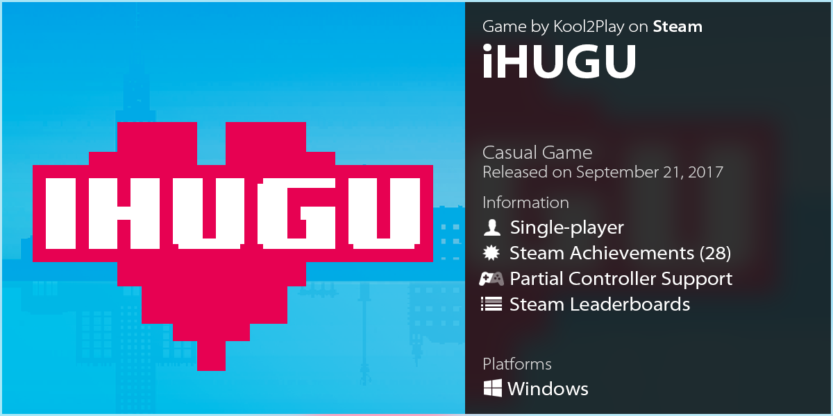 LazyGuysBundle – Steam game iHUGU by Kool2Play