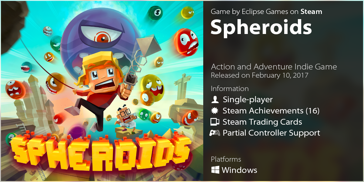 LazyGuysBundle – Steam game Spheroids by Eclipse Games
